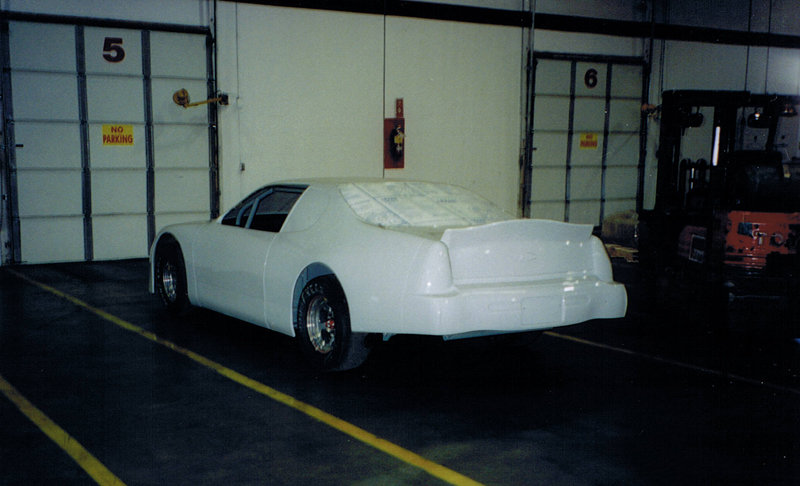 Just off the truck rear view of 2001 McColl Monte Carlo