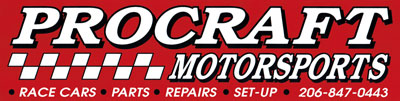 Procraft Motorsports decal scan