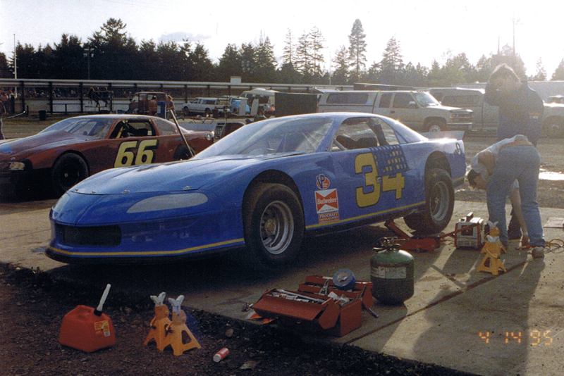 Our first event with this Late Model Camaro at Spanaway Speedway in Washington