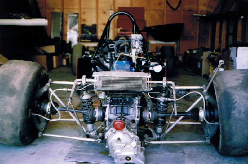 An under-the-skin look at the Bowin Formula Ford chassis